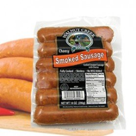 walnut creek cheesy smoked sausage